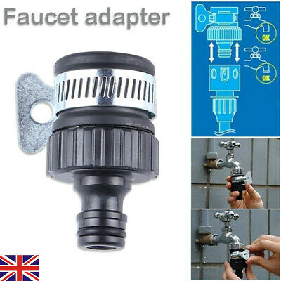 5x Universal Water Faucet Adapter Tap Connector Kitchen Garden Hose Pipe Fitting