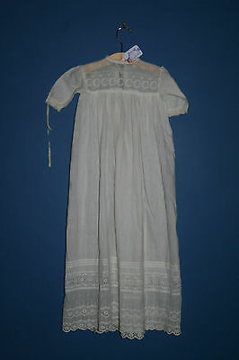 Antique Edwardian Baby Gown AF (#39)