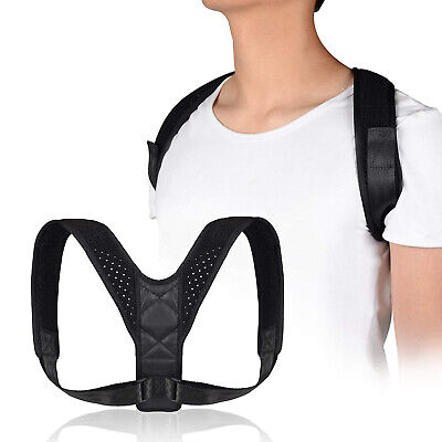 Back Posture Corrector Adjustable Breathable for Women & Men Neck Pain Relief