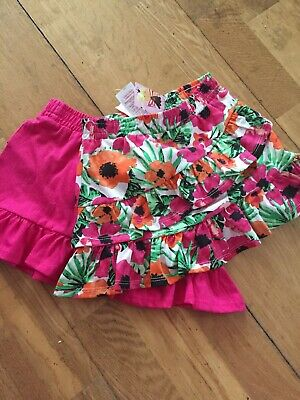 Baby Girls Skirts Floral 9-12 Months Miss Evie
