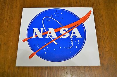 Official NASA Meatball Sticker Decal Authentic Vinyl Decal 3.5 inch