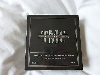 This Mortal Coil remastered luscious 4 CD box set with rare tracks free P&P