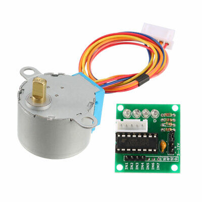 DC 5V Stepper Motor 28BYJ-48 With ULN2003 Drive Test Module Board 5 Line 4 Phase