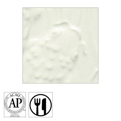 AMACO Gloss Glazes - Pint, Opaque White  - Pint, Opaque White