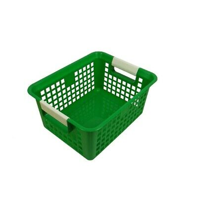 Book Baskets by Romanoff Products - Green  - Green