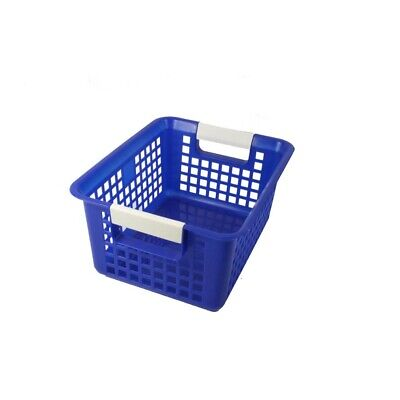 Book Baskets by Romanoff Products - Blue  - Blue