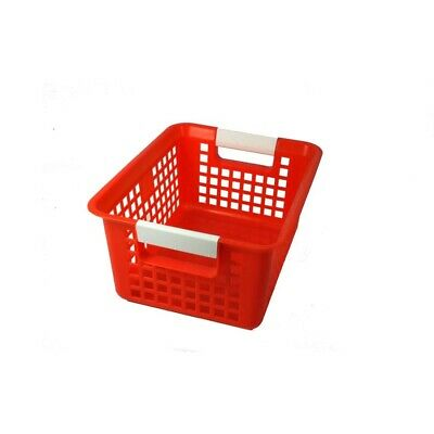 Book Baskets by Romanoff Products - Red  - Red