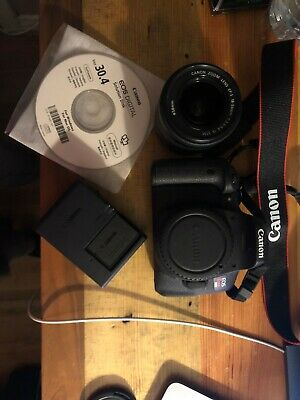 Canon Rebel EOS T6i Camera (everything in box)