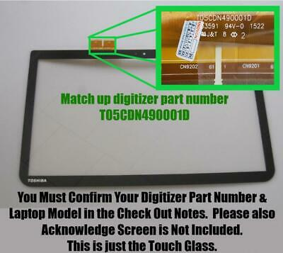 Touch Screen Digitizer Glass Panel for Toshiba Satellite C55T-A5102 C55T-A5218