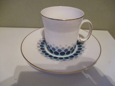Vintage Retro Iconic Blue Mink 1960's Hostess Tableware HT by John Russell