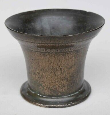 AN ENGLISH, LEADED BRONZE MORTAR, c1690