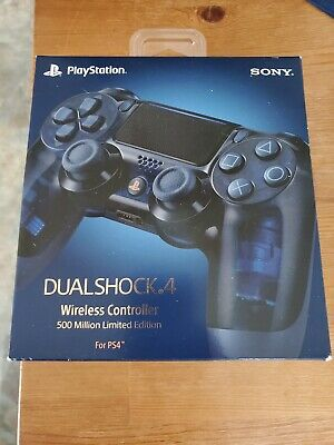 Sony DualShock 4 Wireless Controller for PS4 500 Million Limited Edition sealed