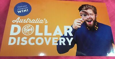 2019 $1 Dollar Discovery Coin Orange Folder with 3 Coins 'A' 'U' 'S'