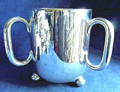 SUPERB Large ~ AESTHETIC / Dresser ~ SILVER Plated ~ ICE BUCKET / TIG ~ c1900