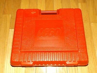 Vintage 1985 LEGO Storage Case Carry Travel Container Red