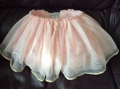 Next gorgeous baby pink frilly lined tutu age 12-18mths