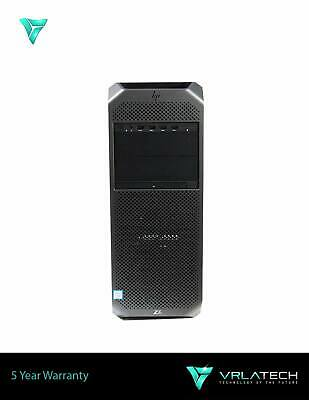 HP Z6 G4 Workstation Silver 4114 32GB RAM 1x 500GB GTX 1070