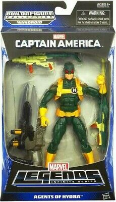 Captain America Marvel Legends Mandroid Series 1 Hydra Soldier Action Figure