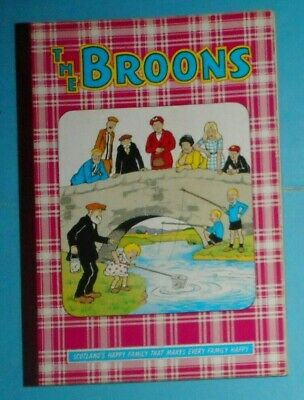 The Broons  1969 , Dudley D Watkins ,  Excellent Condition .