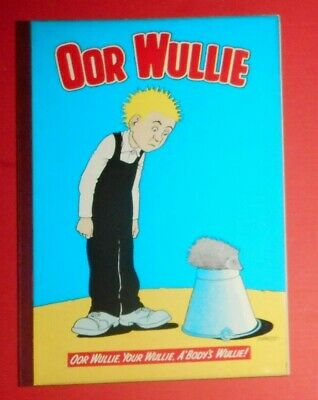 Oor Wullie  1970 , Dudley D Watkins ,  Excellent Condition .