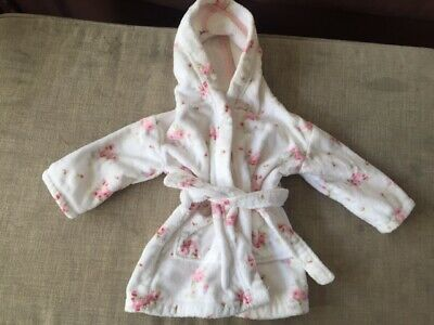 White Company baby girl dressing gown, Size 12-18 months, Brand New