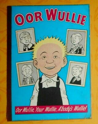 Oor Wullie  1966 , Dudley D Watkins ,  Vg Condition .