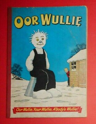 Oor Wullie  1956 , Dudley D Watkins ,  Vg Condition .