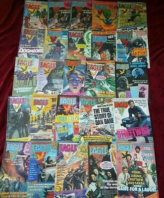Vintage Eagle Comics from 1982 25 Varied Issues