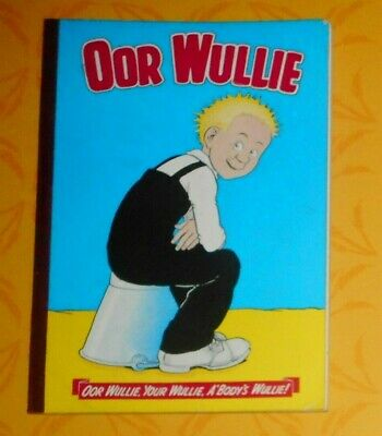 Oor Wullie  1968 , Dudley D Watkins ,  Excellent Condition .