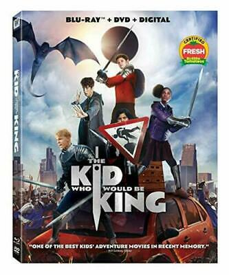 NEW - The Kid Who Would Be King (Blu-ray + DVD + Digital) W/ Slip Cover