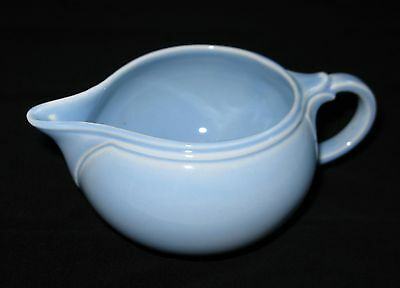 TS&T LuRay Pastels Windsor Blue Creamer Taylor Smith and Taylor Vintage