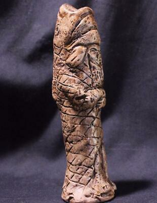 Babylonian FISH GOD 800 BC stone statue ancient replica