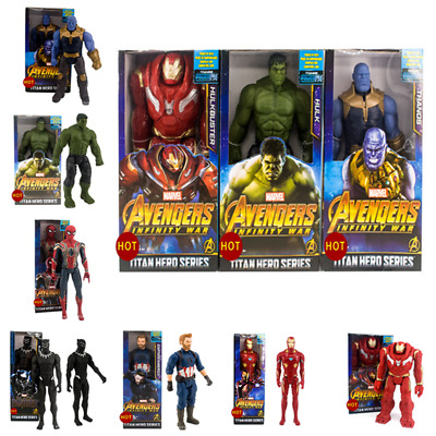 Marvel The Avengers Superheld Iron Man Action Figur Figuren Spielzeug 30CM DE