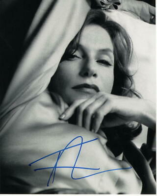 ISABELLE HUPPERT - SIGNED AUTOGRAPHED 8x10 PHOTO - FRENCH BEAUTY, HOT, GRETA