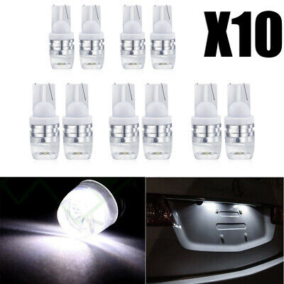 10 PCS Super Bright T10 5730 White Wedge LED Light Bulbs W5W 192 168 194 12V New