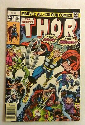 The Mighty Thor 257 VFN Condition Bronze Age Marvel Comics 1976