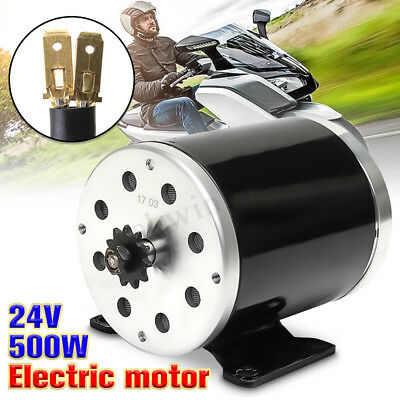 24V DC 500W 28.5A Electric Motor 2800Rpm MY1020 For E-Scooter Electric