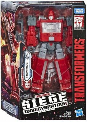 Transformers War for Cybertron: Siege Ironhide Deluxe Action Figure WFC-S21