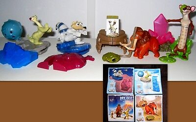 Kinder  - Maxi 2017 - Set Completo Ice Age Collision Course + Bpz