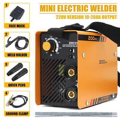 5.5KW 200A Torch Welding Inverter Machine MMA/ARC Portable Welder ZX7-200