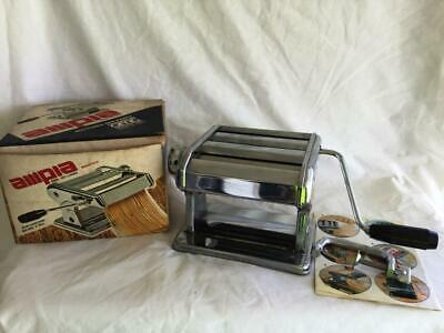 Great Vintage Ampia Tipo Lusso 150 Italy Pasta Machine Maker