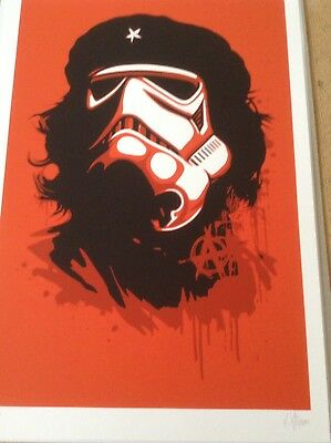 ROUKE VAN DAL 'IMPERIAL CHI'  - RARE LIMITED EDITION PRINT - Banksy Interest