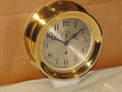 Chelsea Ships Clock~6 In~Railroad Car Ferry~1960~Restored