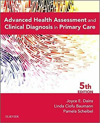 [PDF  Advanced Health Assessment and Clinical Diagnosis In Primary Care) EB00K (