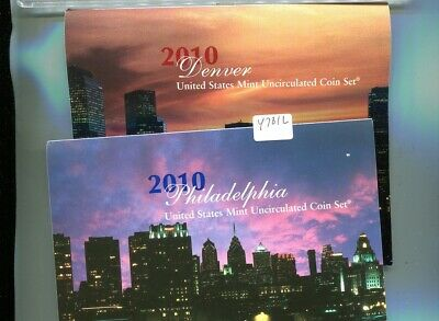 2010 United States P + D Mint 36 Coin Government Set Choice Bu