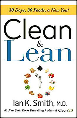 Clean & Lean: 30 Days, 30 Foods, a New You! + 2 free cookbook🆕E-mail delivery🆕