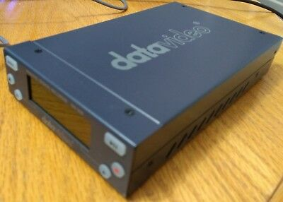 datavideo DN-200 DIGITAL HDD VIDEO RECORDER GOOD WORKING ORDER