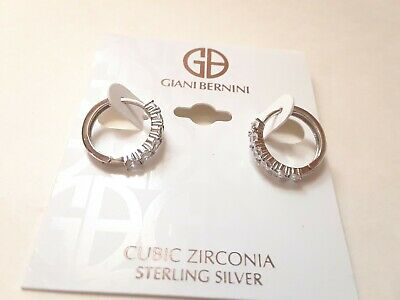 Giani Bernini Earrings $50 Sterling Silver New Over Stock With Tags PZE3831