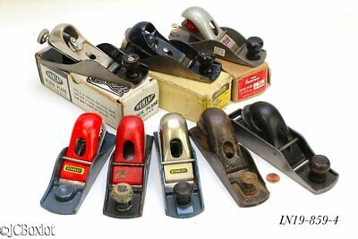 woodworking planes STANLEY BLOCK PLANE LOT SARGENT 130 others