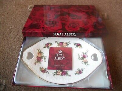 Royal Albert ~ Old Country Roses ~ Victorian Handled Tray ~ Boxed New